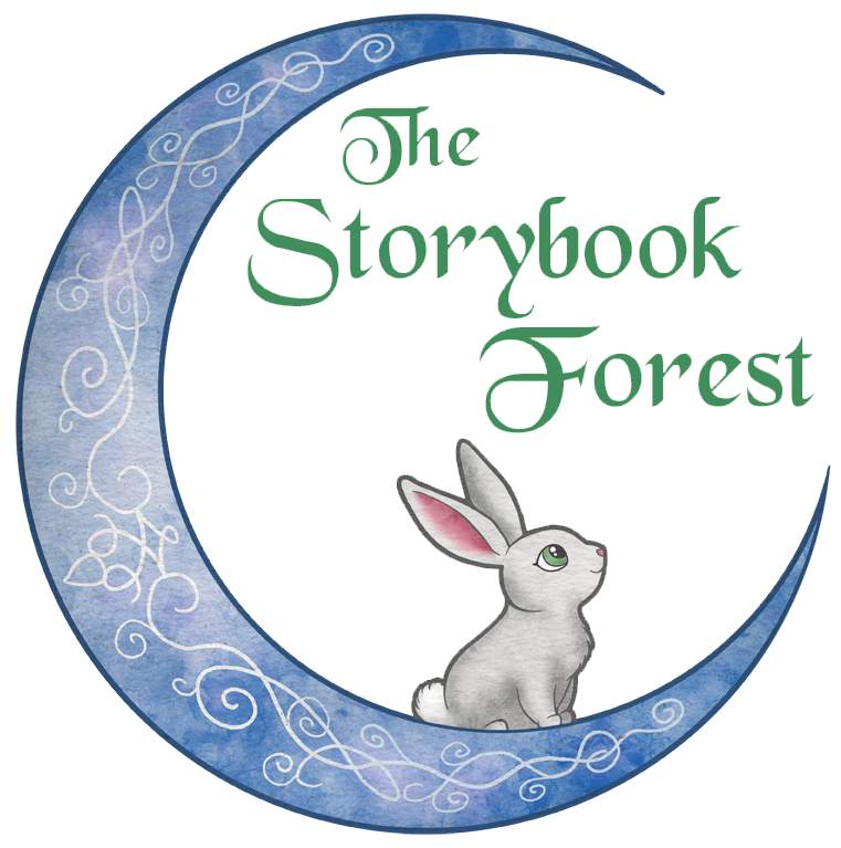storybook forest logo princess party entertainment kansas city