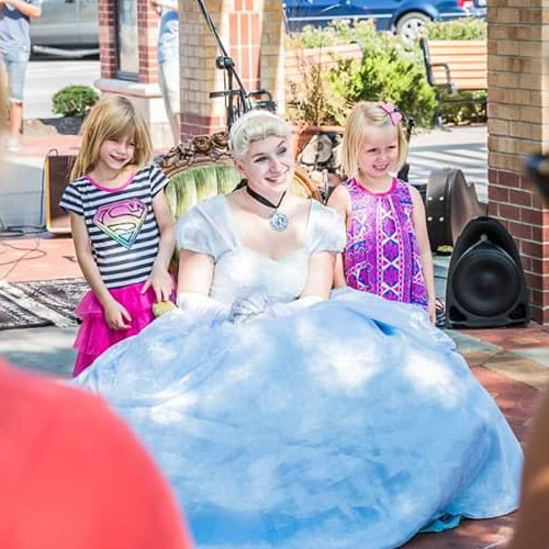 cinderella princess party book today